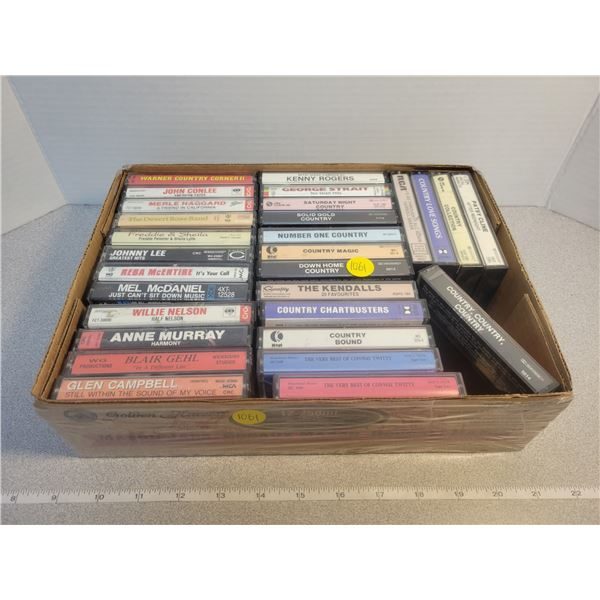 29 Cassettes country