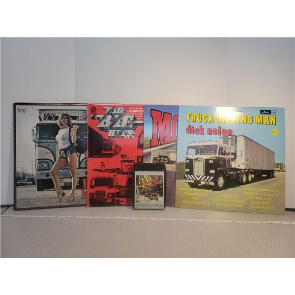 Truck driving music