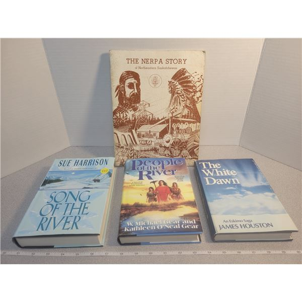 4 First Nations books