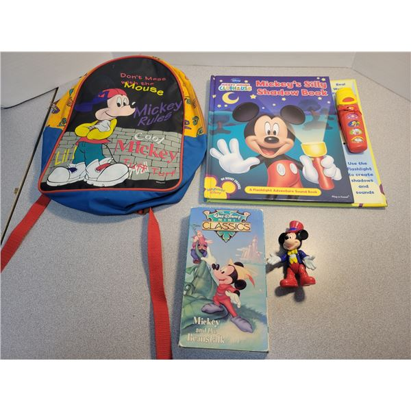 4 pieces Disney Mickey Mouse