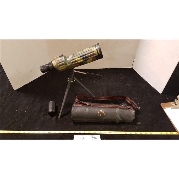 Ducks Unlimited 12 -36 X 50 Monocular with Tripod & Case