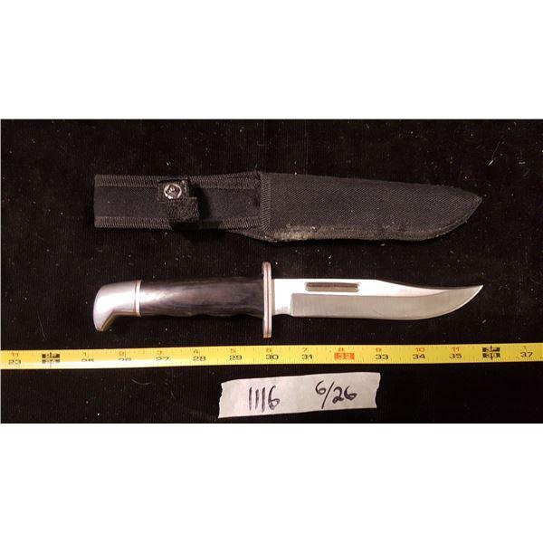 Hunting Knife & Sheath