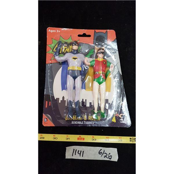 Batman & Robin Figurines