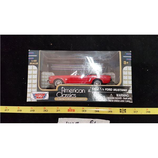 64 1/2 Mustang Die Cast