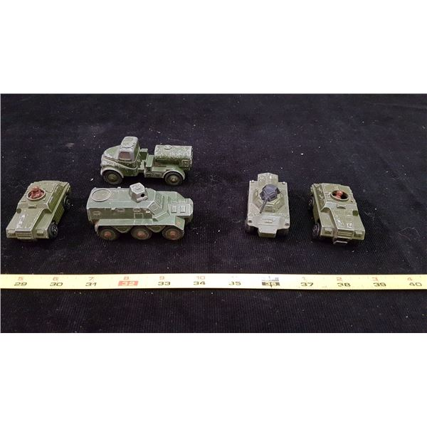 Lot Army Die Cast Vehicles
