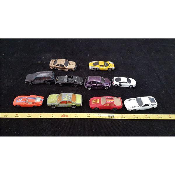 Lot Die Cast Vehicles