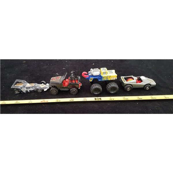 Lot Toy Vehicles