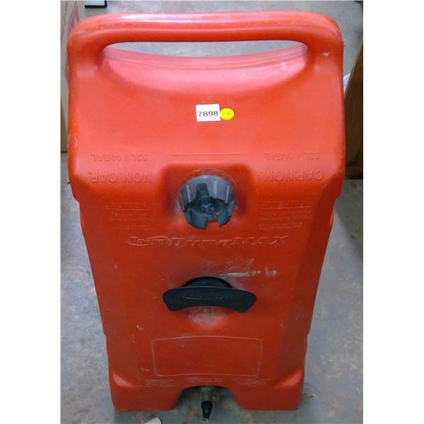 Portable Fuel Tank on Wheels 53L Plastic - No Hose