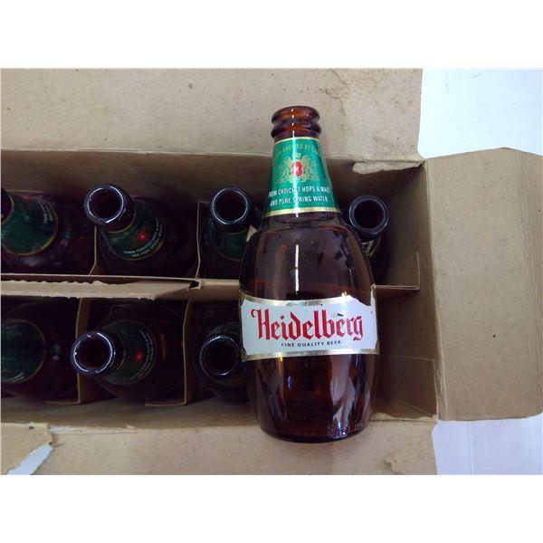12 Case Heidelberg Beer Bottles in Original Box