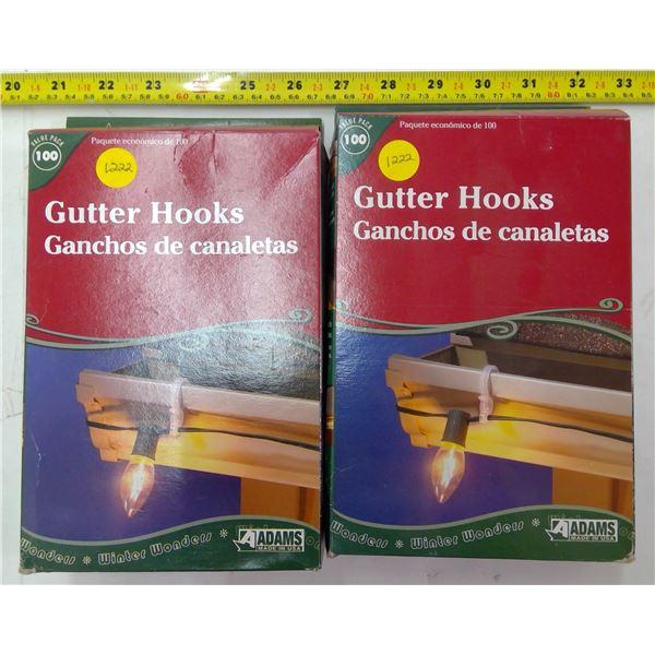 2 - Boxes Gutter Hooks
