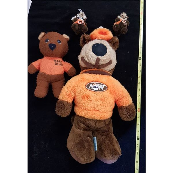 A&W Bear & Baby Bears