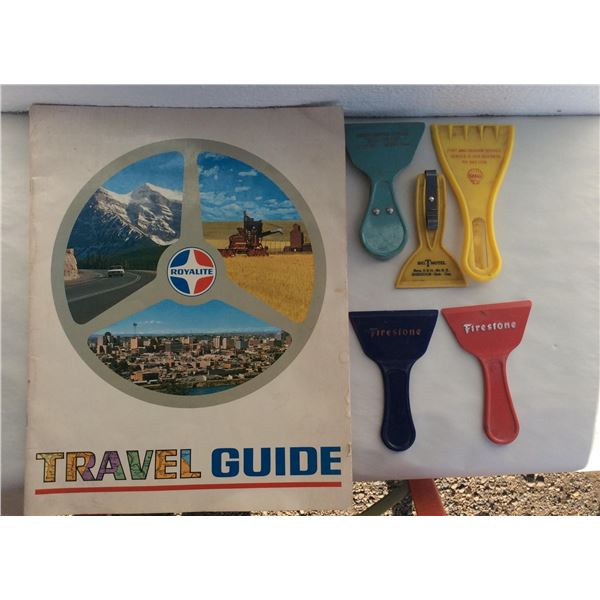 Royalite Travel Guide and Scrapers