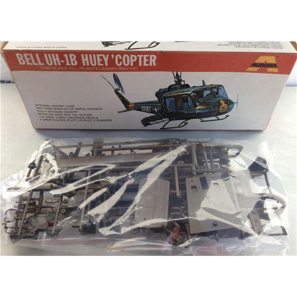 Bell Huey model kit. Unopened.