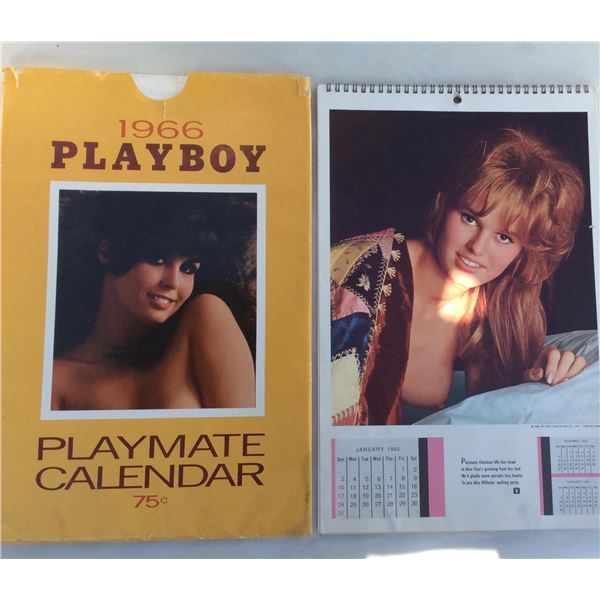 Complete 1965 Playboy Calendar