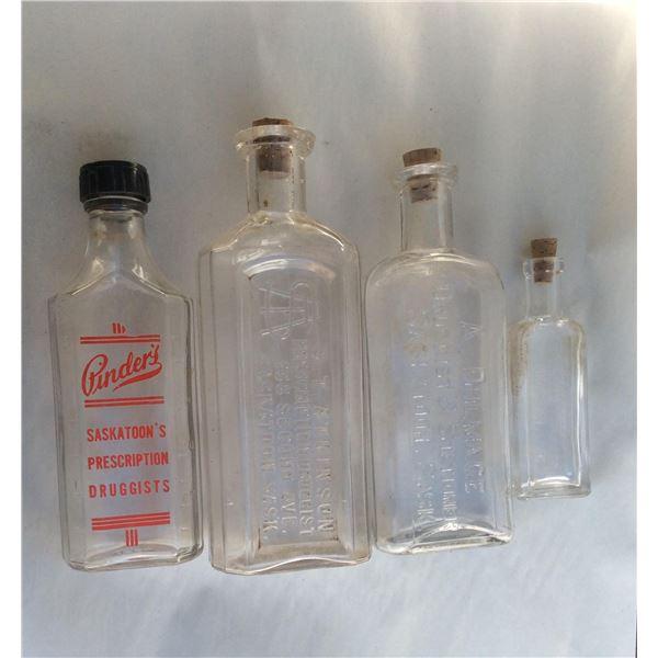 Saskatoon Pharmacist bottles.