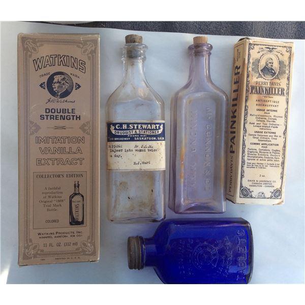 Various Pharmacist bottles