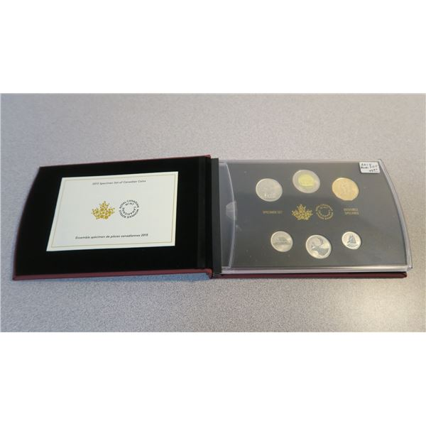 2015 Canadian Coin Specimen Set - 6 Piece - Blue Jay