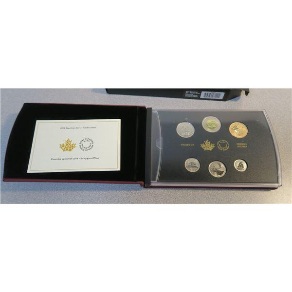 2016 Canadian Coin Specimen Set - 6 Piece - Tundra Swan