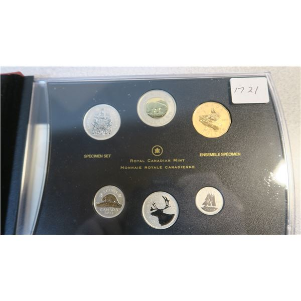 2013 Canadian Coin Specimen Set - 6 Piece - Blue Winged Teal