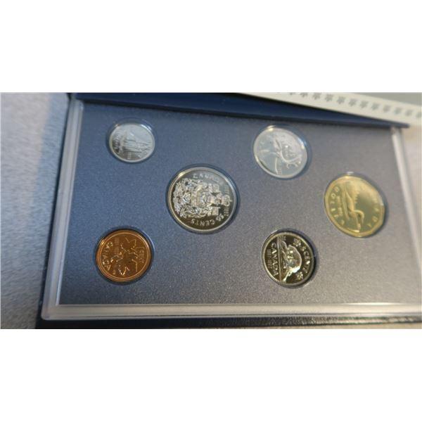 1992 Canadian Coin Specimen Set - 6 Piece