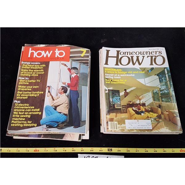 Lot 20 Handyman & How To Magazines