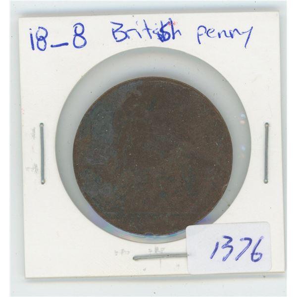 18_8 British Penny