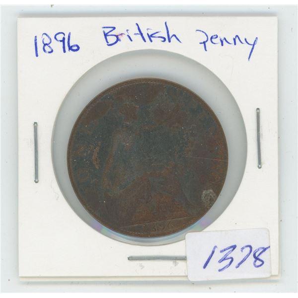 1896 British Penny