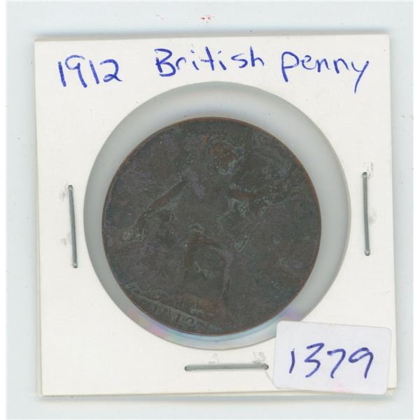 1912 British Penny