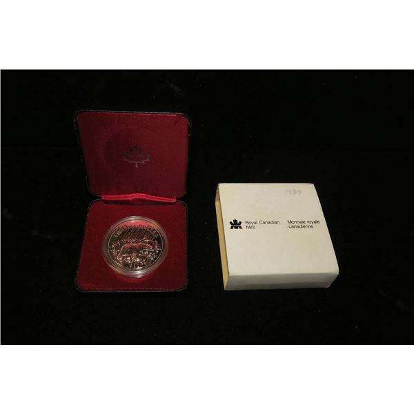 Royal Canadian Mint 1980 silver dollar
