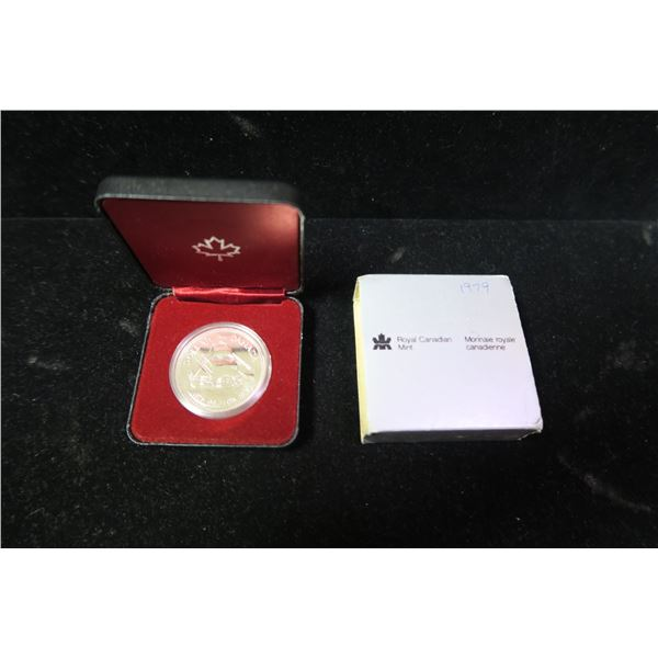 Royal Canadian Mint 1979 silver dollar