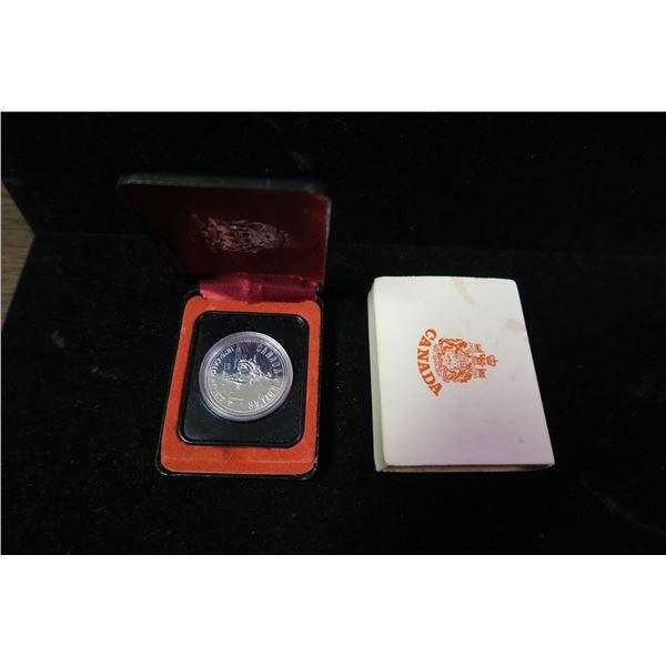 Royal Canadian Mint 1975 silver dollar