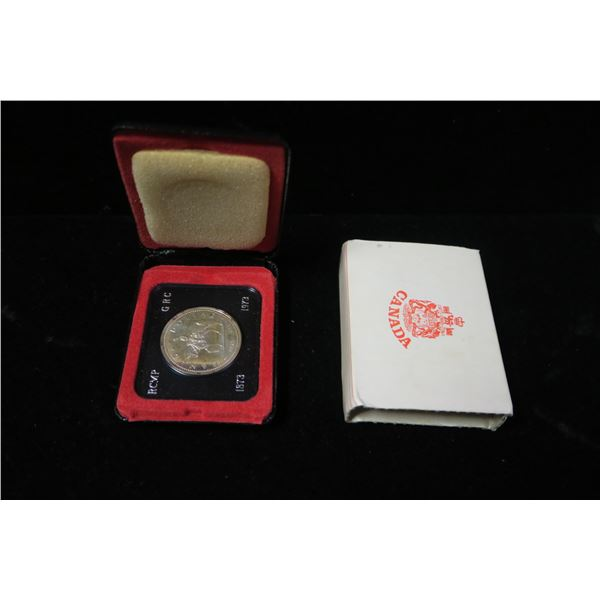 Royal Canadian Mint 1973 silver dollar