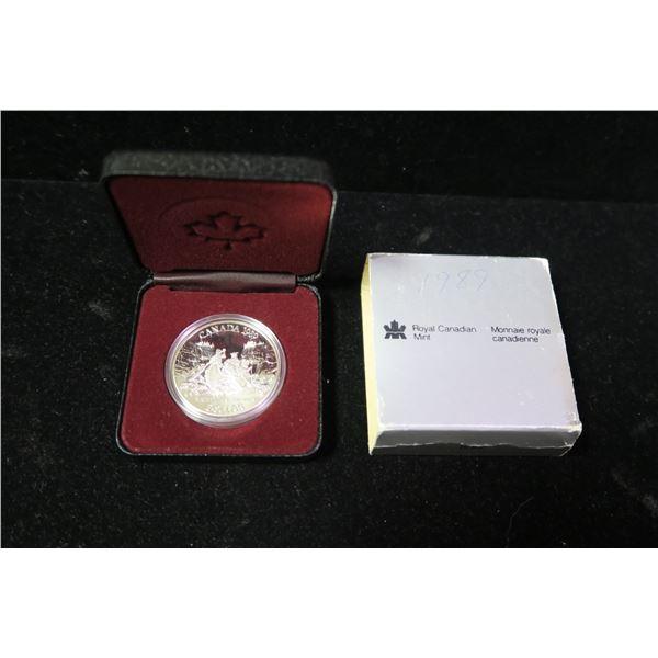 Royal Canadian Mint 1989 silver dollar