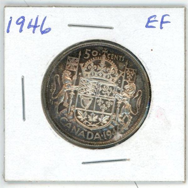 1946 CDN 50 cent EF