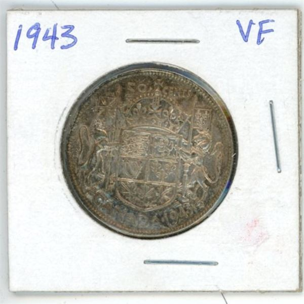1943 CDN 50 cent VF