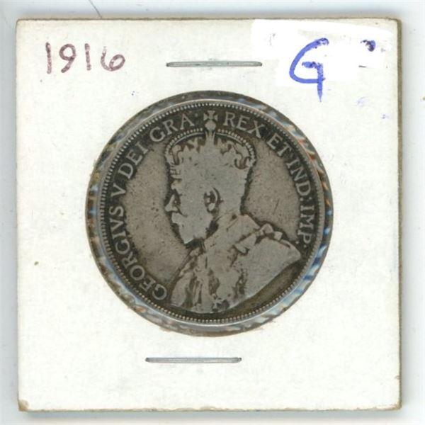 1916 CDN 50 cent G