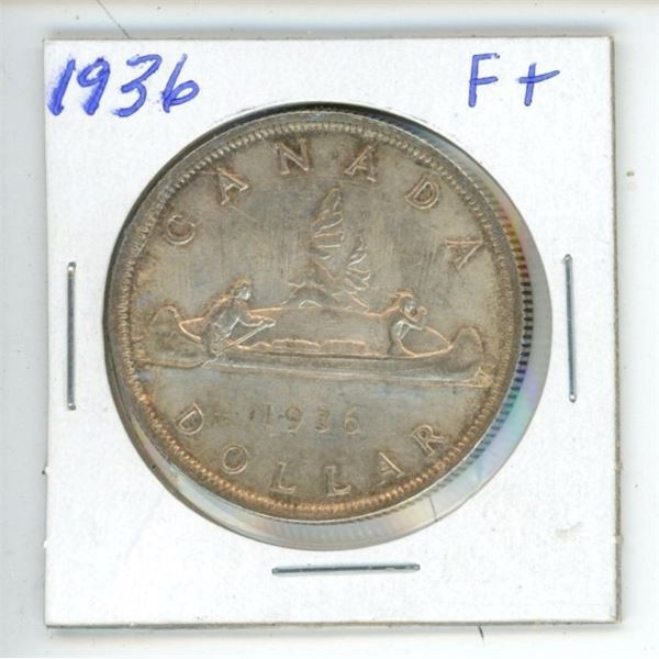 CDN Dollar 1936 F+