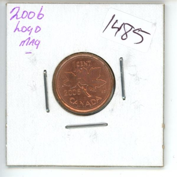 2006 Canadian 1 Cent Coin