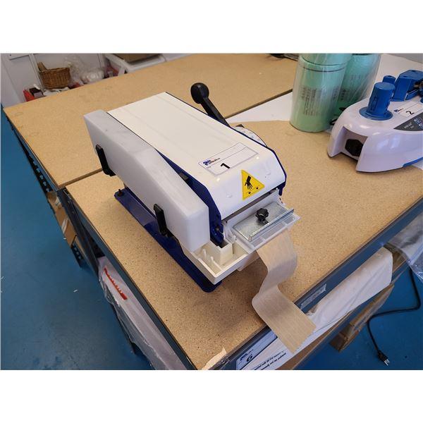 ULINE H-725 HAND OPERATED BOX TAPE MACHINE