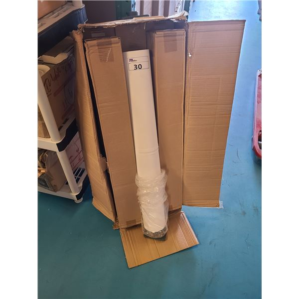 6 ROLLS OF WHITE PAINTERS / PRINTING CANVAS