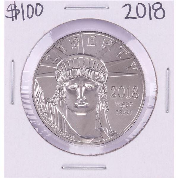 2018 $100 Platinum American Eagle Coin