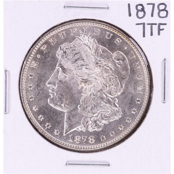 1878 7TF $1 Morgan Silver Dollar Coin