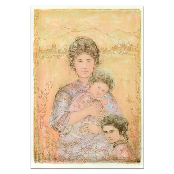 """Hibel (1917-2014) """"Tatyana'S Family"""" Limited Edition Lithograph on Paper"""