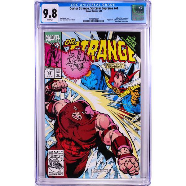 Marvel Comics Doctor Strange Sorcerer Supreme #44 Comic Book 8/92 CGC 9.8