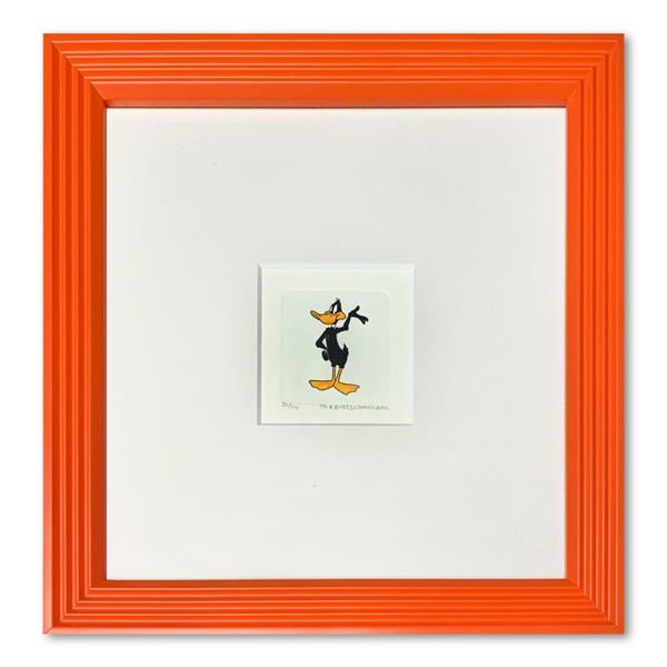 """""""Daffy Duck"""" Framed Limited Edition Etching with Hand-Tinted Color"""