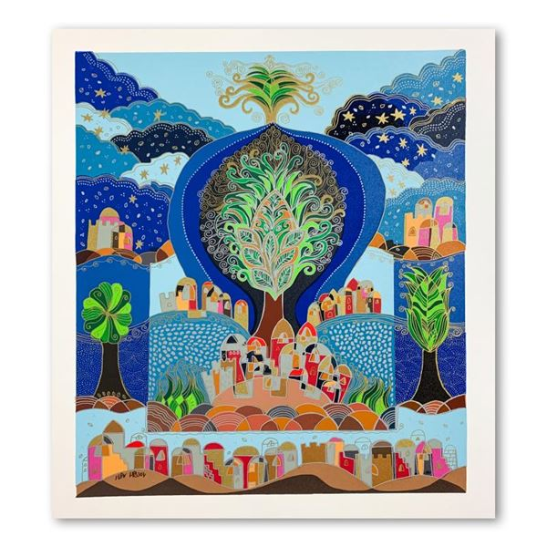 """Ilan Hasson """"Tree Of Life"""" Limited Edition Serigraph on Paper"""