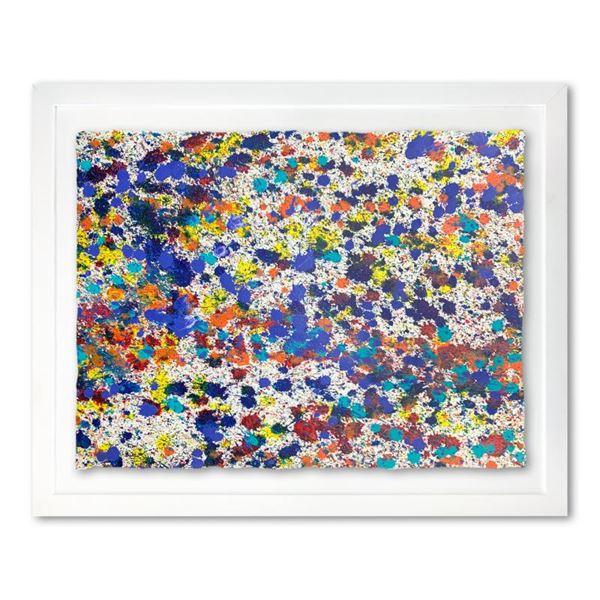 "Wyland ""Speckled Sky 10"" Original Watercolor on Paper"