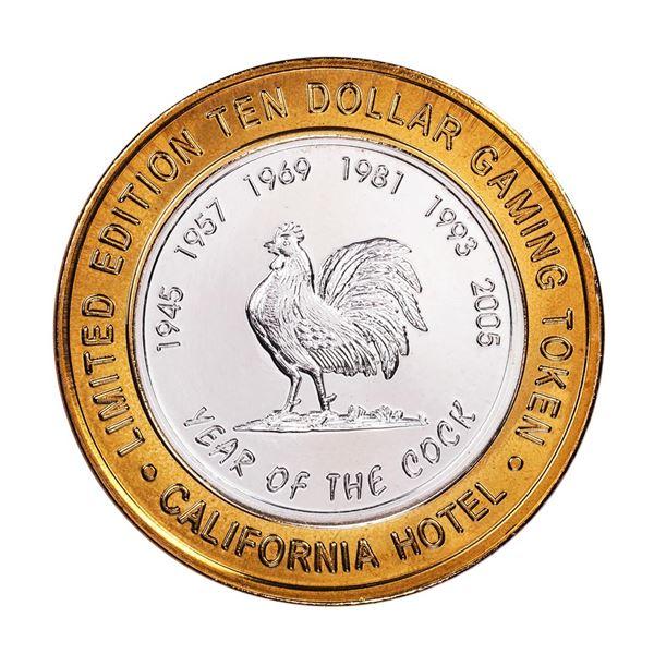 .999 Silver Sam Boyd's California Hotel $10 Casino Limited Edition Gaming Token