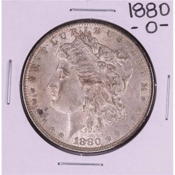 1880-O Micro O $1 Morgan Silver Dollar Coin