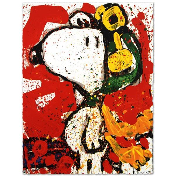 """Tom Everhart """"To Remember"""" Limited Edition Lithograph on Paper"""
